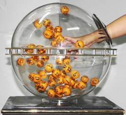 大樂透賓果機租借 尾牙週年慶遊戲手抽獎機 圓球型地球摸彩機 開球機號碼球盒