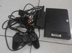PS2 PlayStation2 SCPH-75007 黑色 薄型機款 二手