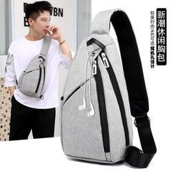 【 科隆3C館  贈品2選1 】 大容量水滴單肩包 側背包 斜背包 USB胸包 後背包 電腦包