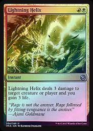 Gold Duel Decks Speed vs Cunning Mtg Magic Uncommon 4 4 PreCon Lightning Helix