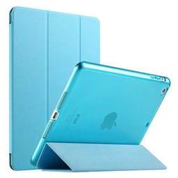 蘋果 iPad Air Air2 / iPad5 ipad6 透明保護殼 超薄三折保護套 簡約 平板電腦智慧休眠皮套