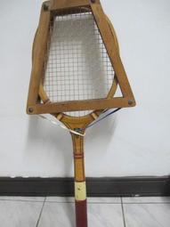 早期二手木製網球拍 TRIUMPH