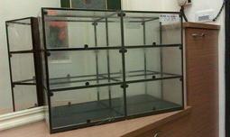 萬品框 展示盒 展示櫃 玻璃 鏡面 多層