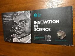 現貨!霍金 黑洞 硬幣 紀念幣 Stephen Hawking 英國 天文物理學家 時間簡史 霍金大見解 收藏品 紀念品