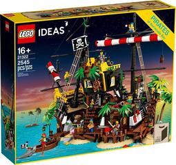 ●一隻阿媛●LEGO IDEAS 21322 梭魚灣海盜 海盜灣 梭魚灣 海盜船