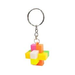 【winshop】A5080 孔明鎖鑰匙圈/益智解壓組合玩具積木/智力環智慧鎖學生獎品/贈品禮品