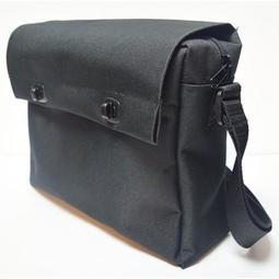 魔鬼黏黑色乾糧袋A4尺寸公文袋書包側背包工具袋資料袋救護包急救包~可開發票~p000044677