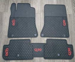 INFINITI Q30 專用 橡膠 防水 汽車 腳踏墊--SGS重金屬檢測通過 無刺鼻味( 非泡棉.非蜂巢.非海馬)