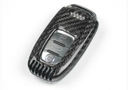 AUDI 奧迪 鑰匙殼 碳纖維圈 A1 A3 A4 A5 A6 A7 A8 S3 S4 S5 S6 S7 RS6