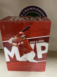 2014& 2016 MVP MLB 洛杉磯 天使 鱒魚 MIKE TROUT MVP