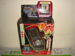 假面騎士數碼寶貝神奇寶貝對打機遊戲機戰隊機器人攜帶式第一代磁幽靈探測器BANDAI抓鬼獵人紅三佰五一元起標35 1元起標