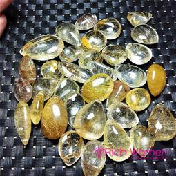 女人要有錢 天然水晶原石吊墜天然金黃黑髮晶鈦晶吊墜正品招財助事業男女皆可隨機出貨