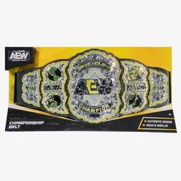 [美國瘋潮]正版 AEW World Championship Toy Belt全精英摔角世界冠軍玩具版腰帶代購 Y2J