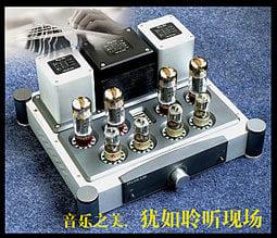 A40X2功放EL34電子管推挽功放人聲利器  功率40WX2 推力強大 W208 [9027556]