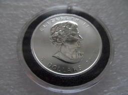 銀幣------加拿大 2011年 楓葉 1盎司(1oz)9999