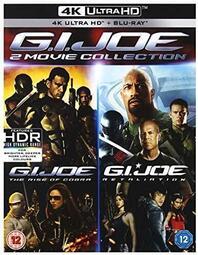 【AV達人】【4K UHD】特種部隊1+2集 4K UHD+BD 四碟限定版(4K中文字幕) G.I. Joe
