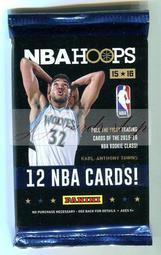 【☆ JJ卡舖 ☆】NBA 2015-16 Panini Hoops 籃球卡包 Anthony Towns、Okafor