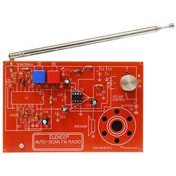 FM 收音機自動掃描 電子實習套件