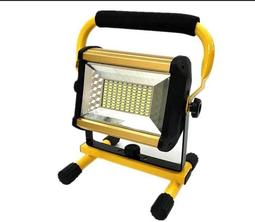 充電式100W投光燈 加厚款  附6顆電池 手提燈 露營燈 停電燈 烤肉燈 5730 探照燈 頭燈 照明燈