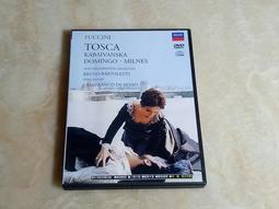[普契尼:托斯卡 PUCCINI TOSCA] DVD 稀有電影版歌劇 / 多明哥  演出