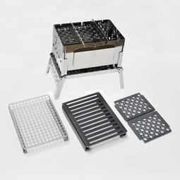 笑's B6君 一組焚火台/烤肉架/柴爐 4件 現貨 日本製