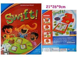 寶貝の玩具屋☆【盒玩】新式小孔版眼明手快Zingo英文圖形配對刷卡賓果機47