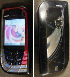 二手市面稀少NOKIA 7610手機(初步測試可以開機歡迎自取測試)