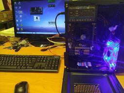 迷你電腦 雙螢幕主機  雙螢幕主機 全新電腦 win10 WIN7 9代CPU 4核心 四核心 迷你機殼