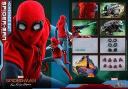 【蛋太郎】預定21年第一季 野獸國 HOT TOYS MMS552 蜘蛛人:離家日 蜘蛛人 自製戰衣款 (免運)