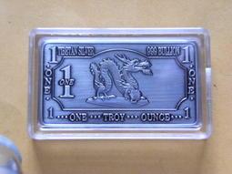 西藏 銀條(銀磚) 龍圖騰 1盎司 1oz