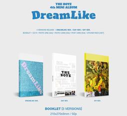 ♥ KR777 ♥ THE BOYZ 贈照片 [附寫真冊隨機小卡]迷你四輯 - DreamLike