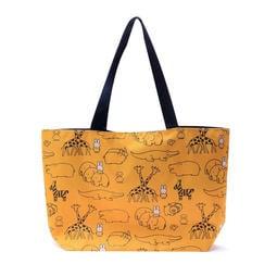 ☆Juicy☆日本 集點 活動贈品 miffy 米飛兔 米菲兔 動物園 抽繩 托特包 手提袋 環保袋 購物袋 3083