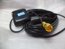 GPS接收器 GPS天線 車用GPS天線 SMA直接頭導航強波感應接收器 磁吸式 現貨庫存品出清價 品號503