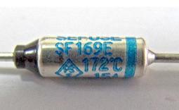 『正典UCHI電子』日本 NEC SEFUSE 15A 172度 溫度保險絲 Fuse ( 附P-2壓接管 )
