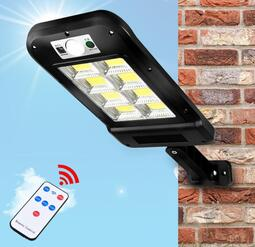 加長款 太陽能感應路燈 6格8格  四模式人體感應 照明壁燈 庭院燈 太陽能感應燈 太陽能led 太陽能路燈 路燈