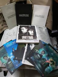 網拍唯一 絕版收藏經典影片 無間道精裝版 3VCD+6劇照明信片+純白盒裝 正版授權 非出租片