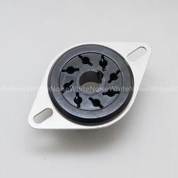 庫存新品古董 8腳 真空管座 8-pin 美國原裝 Amphenol (6SN7.EL-34.5U4G用)