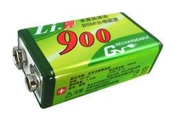 GN 奇恩 9V鋰充電池(鋰電池2顆)