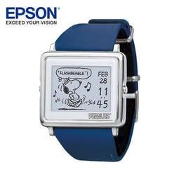 EPSON Smart Canvas Peanuts 變裝系列史努比手錶日本限定版 藍