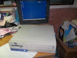 IBM,P3-500迷你電腦,3組PCI,已灌98,,型號:300PL,300GL