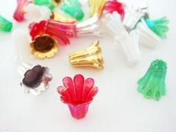 【翰翰手作材料】塑膠花帽 花蓋 流蘇蓋 喇叭花托