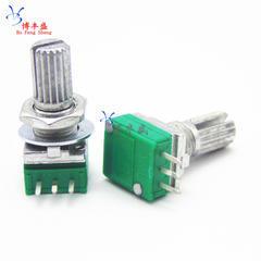 [含稅]單聯電位器 RK097N B20K B203柄長15MM 音響/功放/密封電位器 3腳