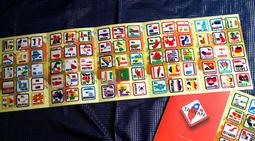 【國旗商品創意館】世界國旗領土旅行箱貼紙組合(一套210款)/防水耐候/Rimowa出國必備
