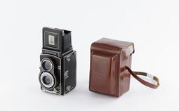 Flexaret TLR 雙鏡頭反光相機 古董相機 附皮套