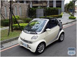 SMART 450 Cabrio 敞篷車 實跑九萬 小改款 700CC 六六車庫