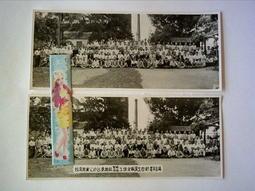 ///李仔糖老照片*民國40年台糖台東糖廠工場全體員工合影老照片-共2張(s689-17)