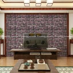 【復古風文化石】韓國3D仿磚塊防水隔音浮雕牆紙壁紙 磚紋牆貼 立體壁貼有背膠 臥室客廳居家裝飾店面辦公室不能超取