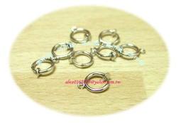 【集布屋】耳環diy材料~彈簧夾(圈圈夾式耳環)~