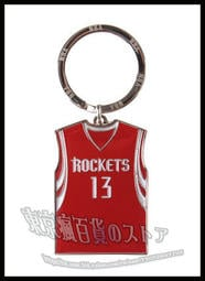 NBA 正品 Rockets 火箭隊 買犯王 哈登 James Harden 雙面球衣 鑰匙圈 吊飾 籃球鞋 周邊 絕配