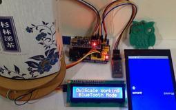 【3dg】arduino 電子磅秤 HX711 I2C 1602 LCD 藍芽